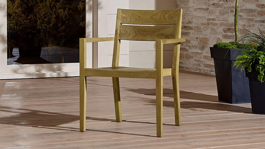 Regatta dining chair crate and barrel