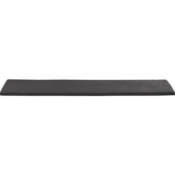 Regatta Sunbrella ® Charcoal Dining Bench Cushion