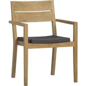 Regatta Dining Chair with Sunbrella® Charcoal Cushion