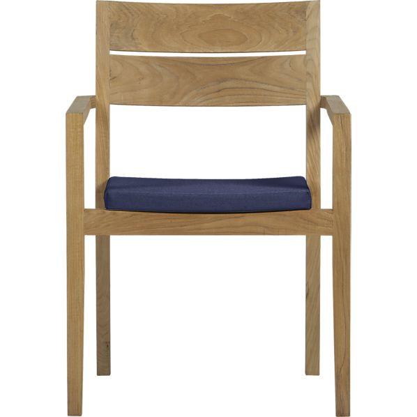 Regatta Dining Chair with Sunbrella ® Indigo Cushion