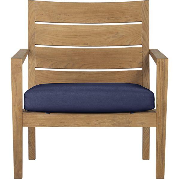 Regatta Lounge Chair with Sunbrella ® Indigo Cushion