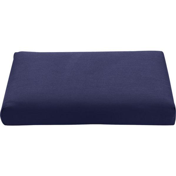 Regatta Sunbrella ® Indigo Modular Armless Chair/Ottoman Cushion