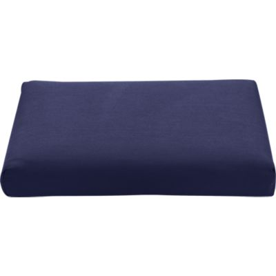 Regatta Sunbrella® Indigo Modular Armless Chair/Ottoman Cushion