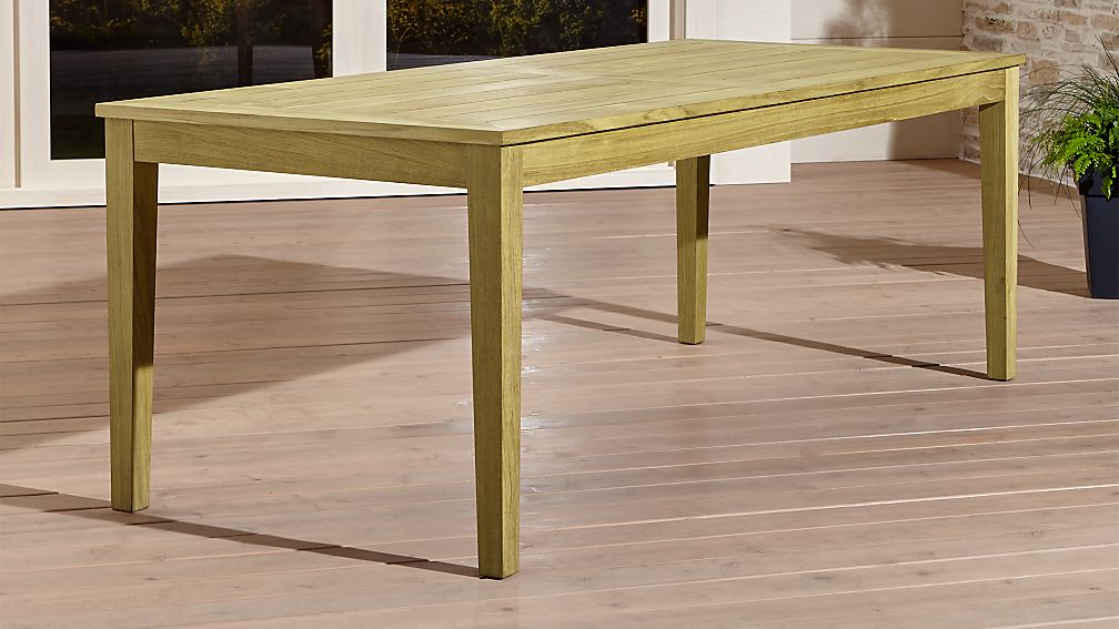 Regatta rectangular dining table crate and barrel for Find a table