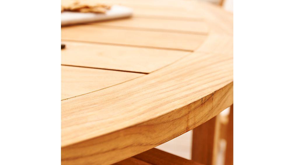 Regatta Round Drop-Leaf Table