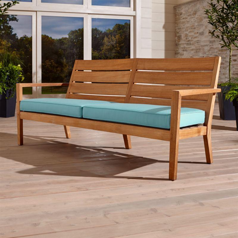 Regatta Sofa with Sunbrella ® Cushion