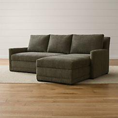 Reston 2-Piece Sleeper Sectional Sofa