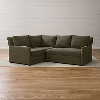 Reston 2-Piece Sleeper Sectional Sofa