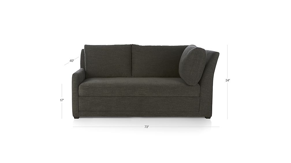 Reston Left Arm Corner Sofa