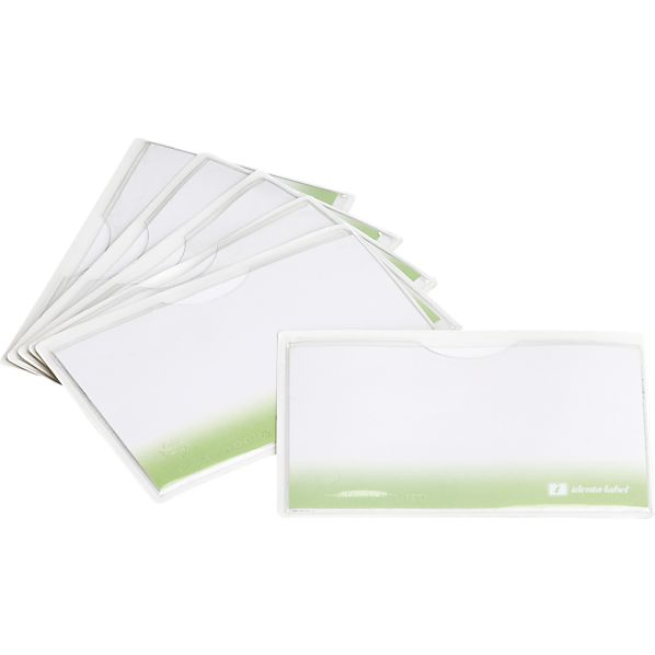 Set of 6 Large Reusable Labels