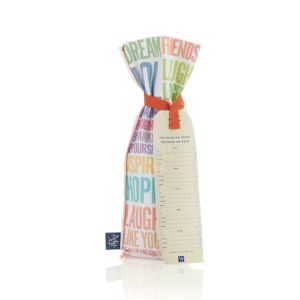 Reusable Sentiment Wine Bag