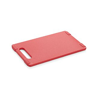 "Jelli ® Red Nonslip Reversible 6x10"" Cutting Board"