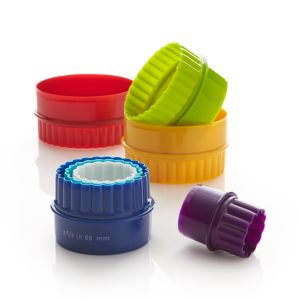 7-Piece Reversible Biscuit Cutter Set