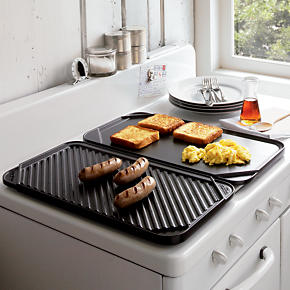 Reversible Double Griddle - Griddle