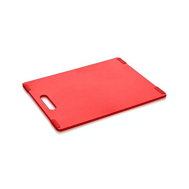 Jelli ® Red Nonslip Reversible Cutting Board