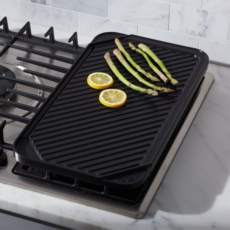 Reversible Ceramic Double Griddle Crate And Barrel