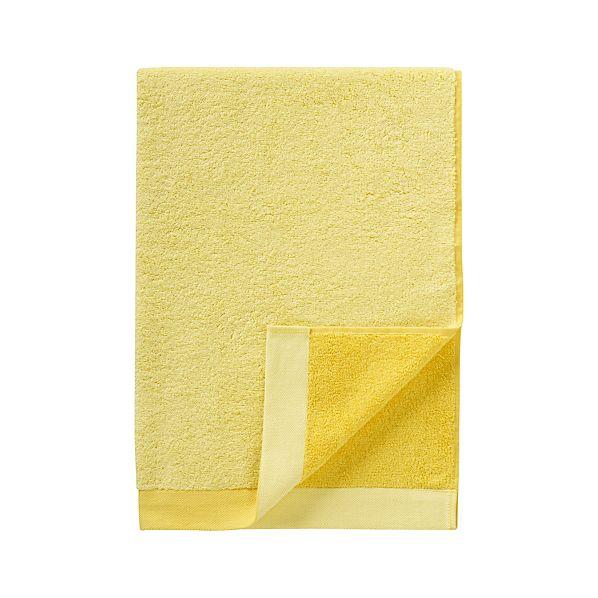 Reversible Yellow Bath Towel
