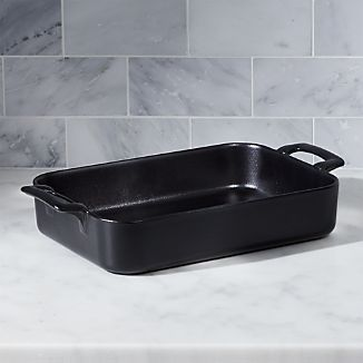 "Revol Belle Cuisine Rectangular Black 11.75""x8.5"" Baking Dish"