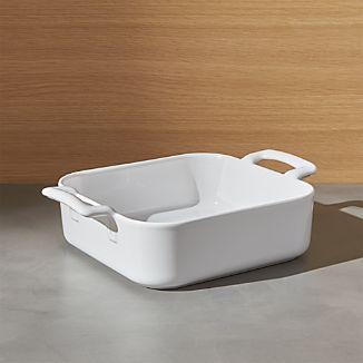 Revol Belle Cuisine White Square Baking Dish