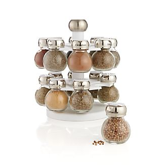 Revolving Spice Rack with 16 Jars