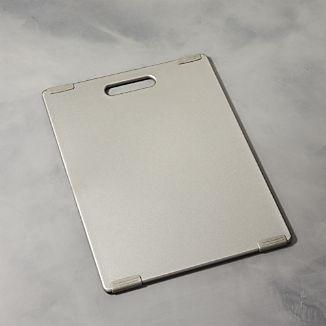 Jelli ® Pewter Nonslip Reversible Cutting Board