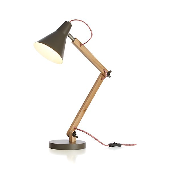 Rex Grey Desk Lamp