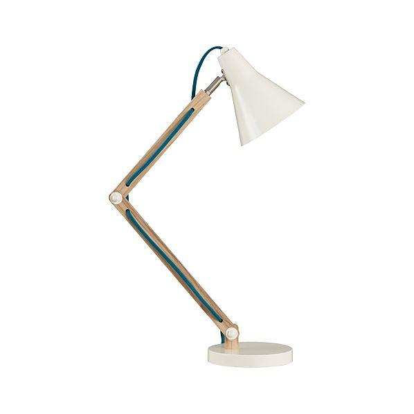 Rex Ivory Desk Lamp
