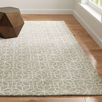 Rhea Natural Wool-Blend Rug