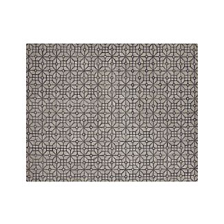 Rhea Graphite Grey Wool-Blend 8'x10' Rug