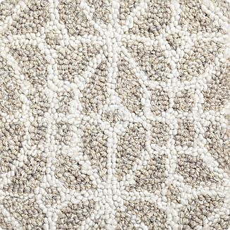 "Rhea Wool-Blend 12"" sq. Rug Swatch"