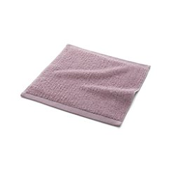 Ribbed Purple Washcloth