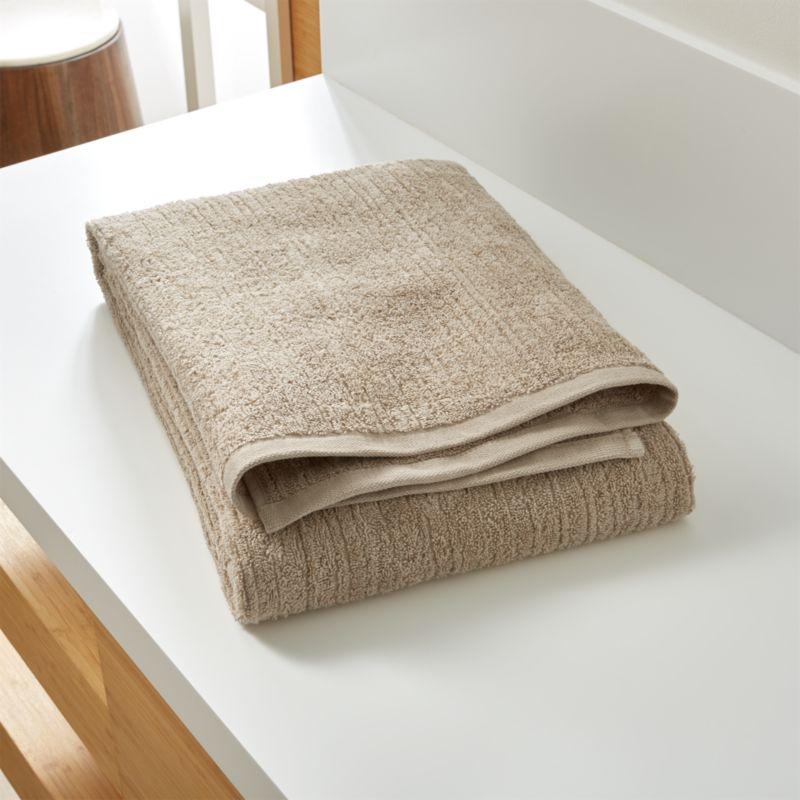 Ribbed Sand Bath Sheet