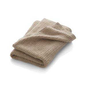 Ribbed Sand Bath Towel