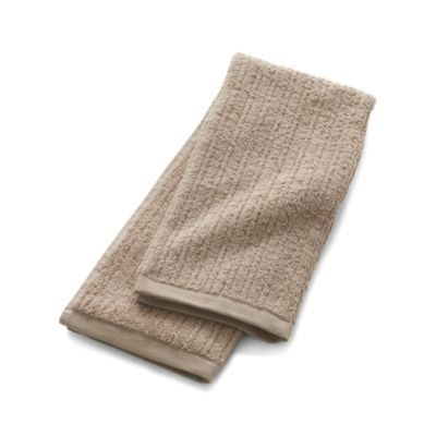 Ribbed Sand Hand Towel