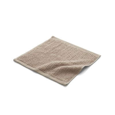 Ribbed Sand Washcloth