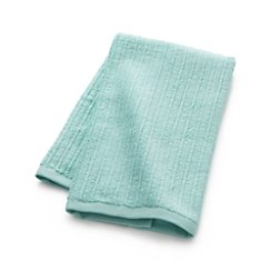 Ribbed Seafoam Hand Towel