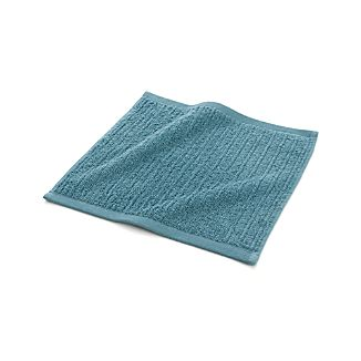 Ribbed Teal Washcloth
