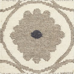 "Ridley Wool Dhurrie 12"" Sq Rug Swatch"