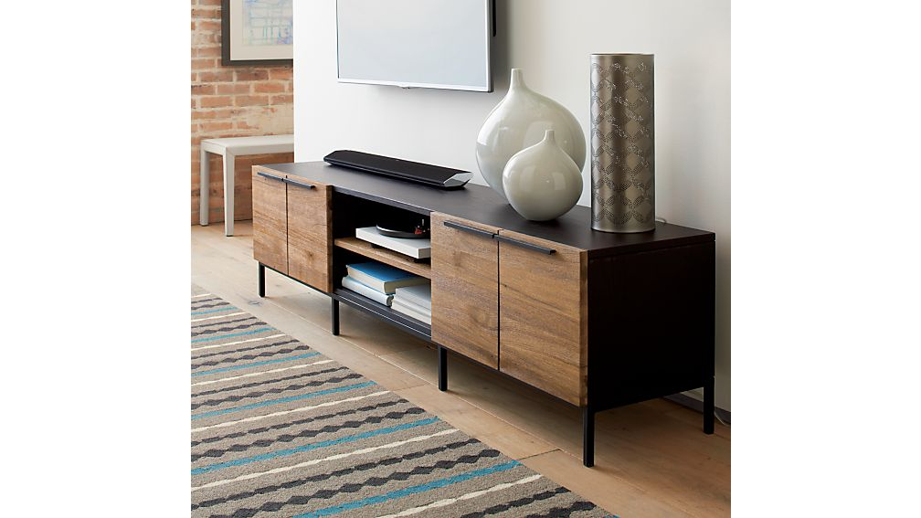 Rigby Media Console With Base In Tv Stands Amp Media