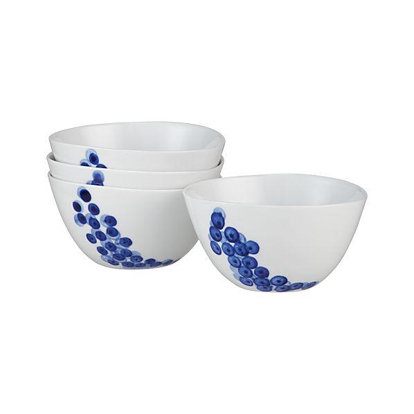Set of 4 Rika Bowls