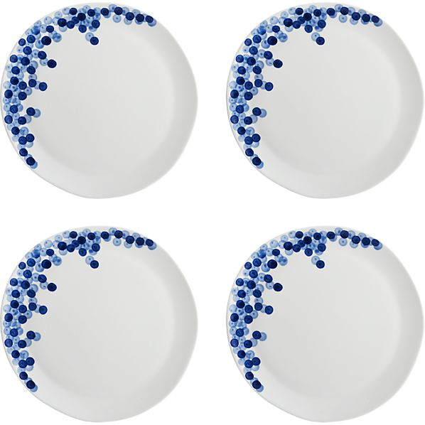Set of 4 Rika Dinner Plates