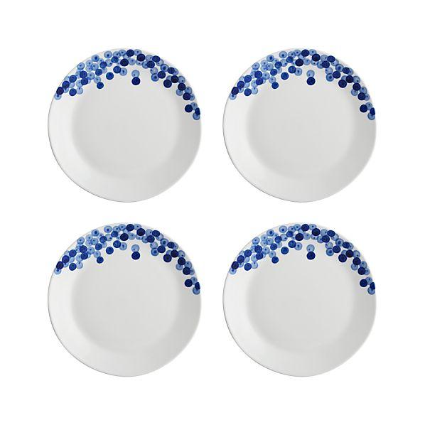 Set of 4 Rika Salad Plates