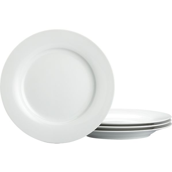 Rim Dinner Plates Set of Four