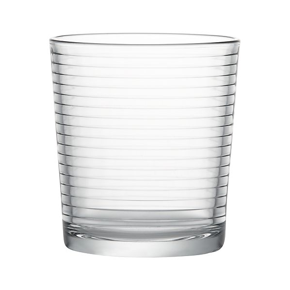 Rings Double Old Fashioned Glass In Drinking Glasses