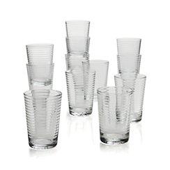 Set of 12 Rings Juice Glasses