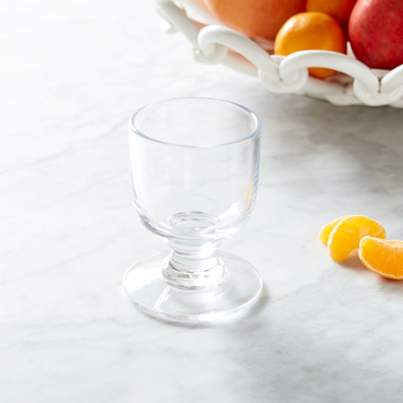 Paola Navone's bold and expressive tableware collection recaptures the lively and energetic 1950s scene of the French Riviera. The inspiration is a cheerful world, remembering the flavors and scents of the sun-drenched Mediterranean. Earthy, elegant beverage glass in a timeless shape speaks to lingering, relaxing sips of wine or effervescent sodas. Each glass is handcrafted by skilled European glassmakers and stamped with the designer's signature fish logo.<br /><br /><NEWTAG/><ul><li>Designed by Paola Navone exclusively for Crate and Barrel</li><li>Handcrafted</li><li>Glass</li><li>Chip resistant</li><li>Hand wash</li><li>Made in Poland</li></ul>