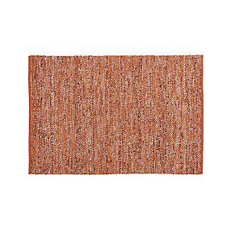 Riza Rust 4'x6' Rug