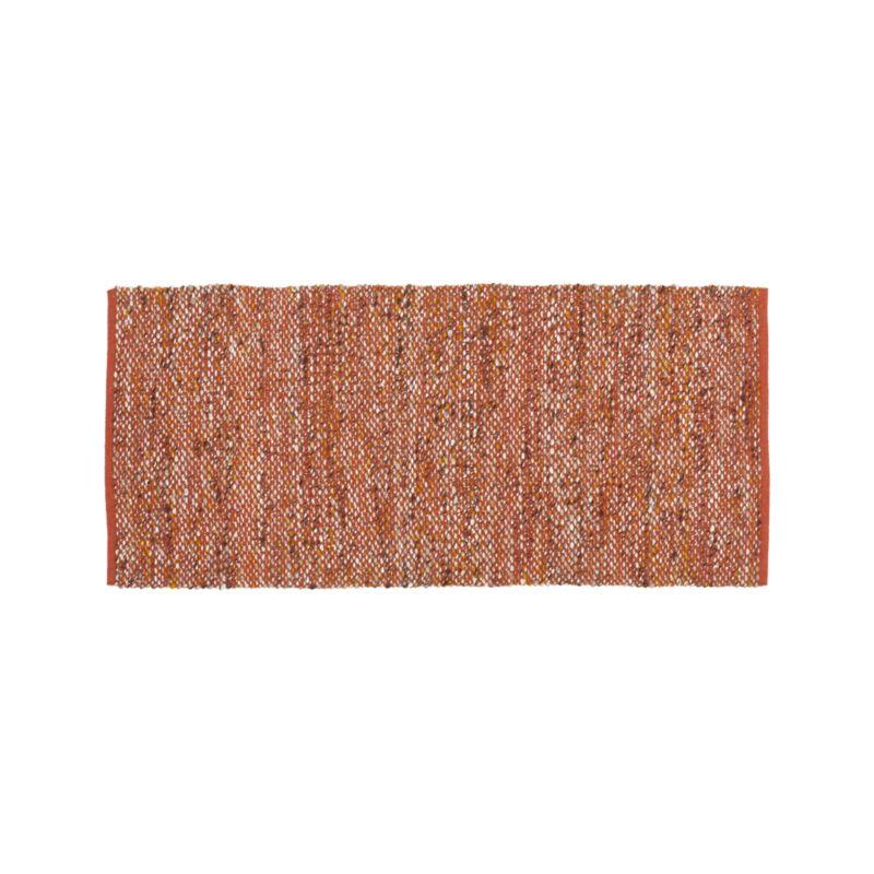 Riza Rust 2.5'x6' Rug