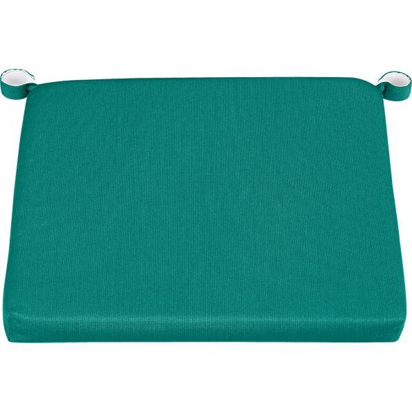 Rocha Sunbrella ® Harbor Blue Dining Chair/Barstool Cushion