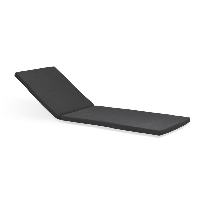 Add extra comfort to Rocha chaise lounge chair with fade-, water- and mildew-resistant Sunbrella® acrylic cushions in chic charcoal.<br /><br /><NEWTAG/><ul><li>Fade- and mildew-resistant Sunbrella® acrylic</li><li>Polyurethane foam fill</li><li>Cushion is secured with fabric tab fasteners</li><li>Spot clean</li><li>Made in USA or China</li></ul>